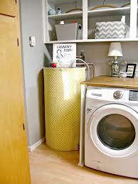 Laundry Room Redo - Hiding the Electrical Panel & Hot Water Heater - Little  Vintage Cottage