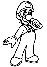 Small Picture Super Luigi Coloring Pages Super Luigi Coloring Pages Color Nimbus