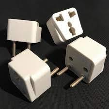 Đầu Chuyển Đổi 3 Chấu_Đầu Nối, Phích cắm điện Vinakip chuyển đổi ổ 3 chấu  sang 2 chấu_Bảo Hành 6 Tháng
