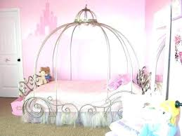 Little Girl Canopy Beds Girls Bed Cute For Room Collection In Ebay ...