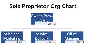 Sole Proprietorship Organizational Chart Trade Setups That