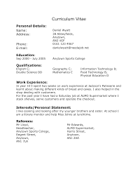 cv work experience cv templates for year resume template year student careers news and advice from aol