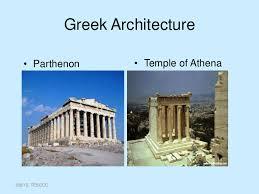 legacies of ancient  greek architecture