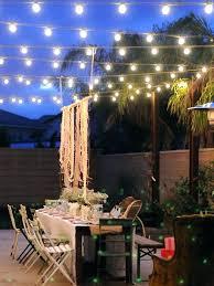 backyard string lighting ideas. Landscape String Lights With Timer Innovative Outdoor Patio Lighting Ideas . Backyard