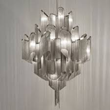 greatful chain pendant chandelier by modern designer lighting