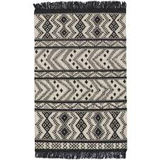 capel genevieve gorder abstract black 7 ft x 9 ft flat area rug