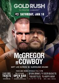 UFC 246 Viewing Party - Tickets - Gold Rush Cabaret, Miami ...