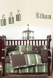 brown crib per green and brown baby bedding modern boys crib set final boys crib bedding