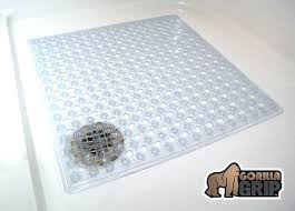 bath tub mat non slip bathtub mat com gorilla grip square inch by 6 comfortable bath tub mat