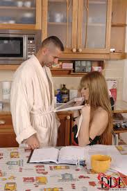 Charlyse Angel rides cock on the kitchen table DDF Prod 16.