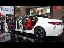 2018 toyota camry xse. plain camry 2017 new york international auto show  2018 white toyota camry xse in hd inside toyota camry xse