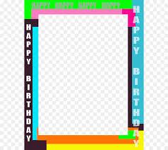 happy birthday picture frames magazine clip art free birthday frames