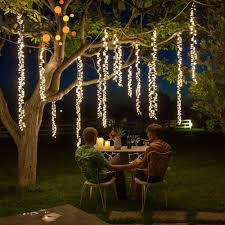 Connectable Icicle Lights Outdoor Us 14 4 27 Off 4x2 5m Connectable Led Racimos Wedding String Lights Christmas Fairy Light Led Garland Outdoor For Garden Party Tree Patio Decor In