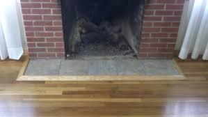trim around fireplace trim around brick