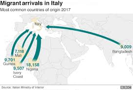 Matteo Salvini Interior Ministers Claims About Immigration