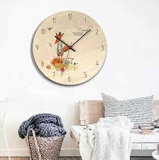 cartoon clocks living room decoration
