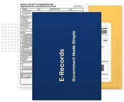 e records social security card