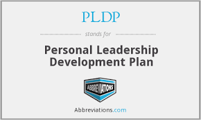 Pldp Personal Leadership Development Plan