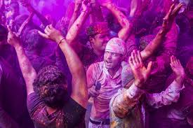 the holi festival a photo essay by joseph mak in the temple worshippers revel and bathe in the beauty of the holi festival
