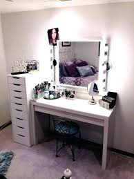 vanity table with lighted mirror white desk in make up set inspirations 16