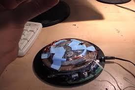 levitating rotating globe hacked gadgets diy tech blog levitating rotating globe