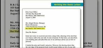 Basic Business Letters How To Write A Basic Business Letter Jobs Resumes