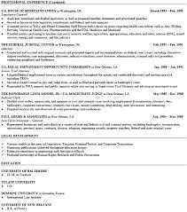 senior attorney sample resume senior attorney resume