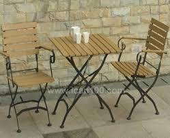 Modern Iron Patio furniture Cafe Set Iron Furniture Ican100com