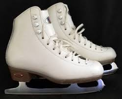 Reidell Model 21 Skating Boot Size 1 1 2 With Sapphire Blade