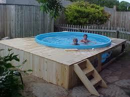 blue hot tub via mos