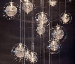 hand blown glass lighting fixtures. Hand Blown Glass Lighting | Foyer \u0026 Staircase Chandelier Pertaining To Pendant Lights Fixtures A