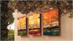 9 amazing ideas of outdoor wall decor