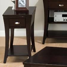 small accent table with drawer narrow end table side table brown small table storage full wallpaper