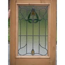 sd003 original edwardian art nouveau stained gl exterior door design