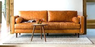 west elm sofa leather vintage best sofas dimensions couch hamilton review leat