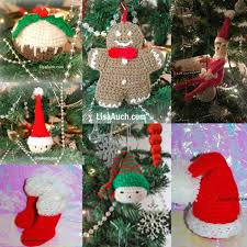 Free Crochet Christmas Ornament Patterns Fascinating Free Crochet Patterns And Designs By LisaAuch FREE Crochet Patterns