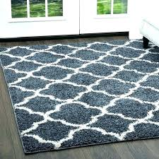 white fluffy area rug 8x10 black and chevron striped grey gray blue rugs a furniture glamorous synergy