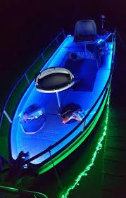 Bass Boat Led Light Kit Amazing Custom Jon Boat With Lights Boat Building Fishing