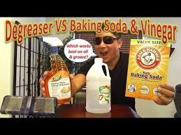 Degreaser VS Baking Soda & Vinegar For Cleaning Range Hood Filters