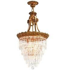 35 most wicked superlative crystal chandelier w rams head motif french empire style portfolio vintage chandeliers