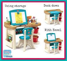 unusual creativity desk and easel n7775586 american plastic toys creativity desk and easel