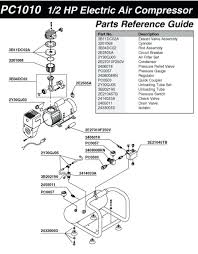 hitachi air compressor parts. large image for air compressor 40 gallon pc1010 parts schematic hitachi