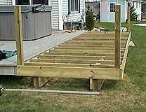 building a simple deck building a simple deck l2