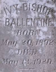 Ivy Bishop Ballentine (1892-1920) - Find A Grave Memorial