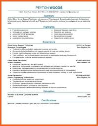Generous Resume For Server Support Engineer Images Entry Level