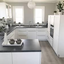 Instagram Wohnemotion Landhaus Küche Kitchen Modern Grau