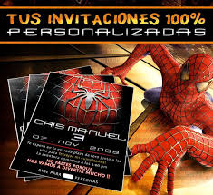 Invitaciones De Spiderman Para Editar Invitaciones De Spiderman Para Editar Kays Makehauk Co