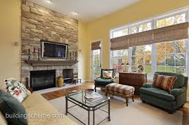 Tv Decorating Ideas Good Looking Living Room With Fireplace And Tv Decorating Ideas