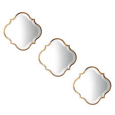 mirror zanui. souk mirror, 38cm (set of 3) by amalfi | zanui mirror