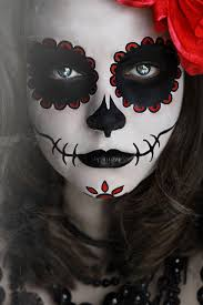 day of the dead makeup sugar skull dia de los muertos